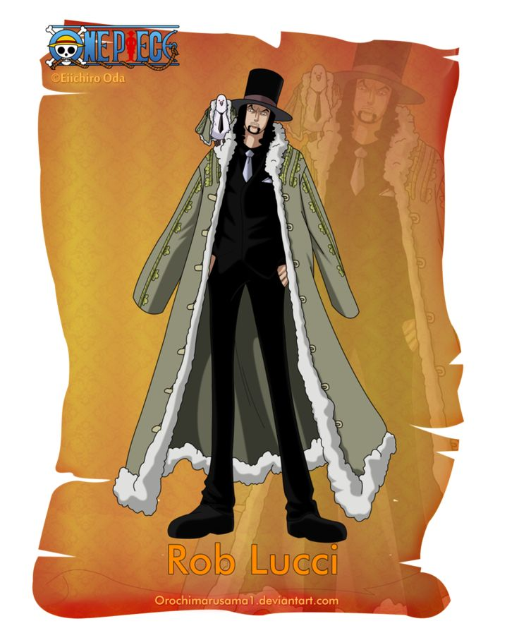 Rob Lucci by orochimarusama1 on deviantART