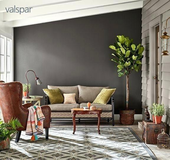 Graue Zimmerfarben Innenarchitektur 2018 Pinterest - Wohnzimmer Design Wandfarbe Grau