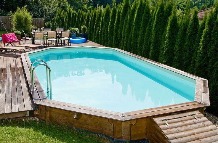 piscine bois 10x4