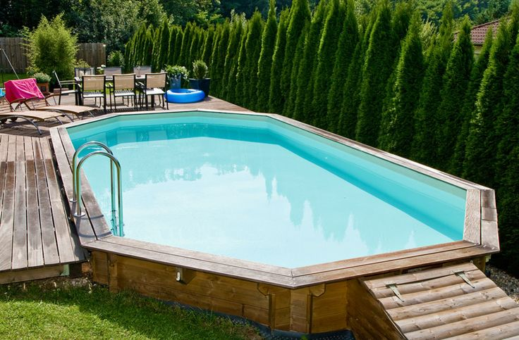 17 best images about piscine et spa gonflable on pinterest for Budget piscine bois