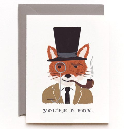 Valentine.: Gift, Valentines Day, You Re, Rifle Paper Co, Foxes, Rifles, Cards, Valentine S