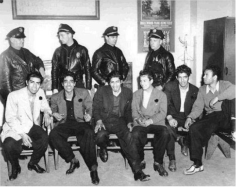 1940's y el estilo de los trajes Zoot