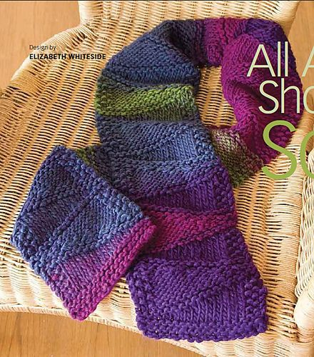 All About Short Rows Scarf by Beth Whiteside