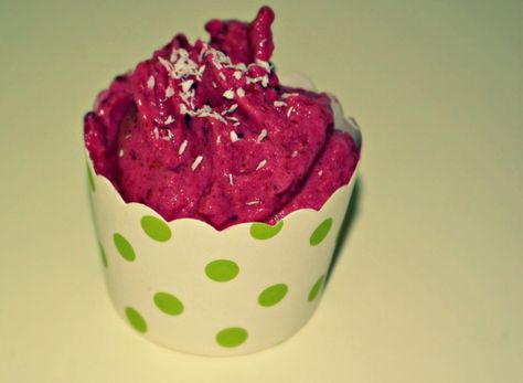 Frozen Yogurt_Kokos-Waldbeere