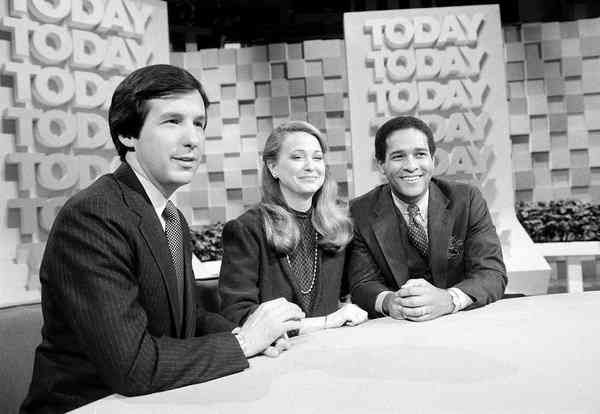 CHRIS WALLACE, JANE PAULEY, BRYANT GUMBELL 1981  It was the first show of its type when it started in 1952, and has remained an important part of NBC News through the decades.