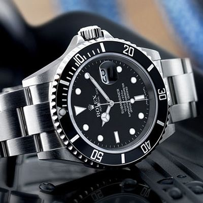 Rolex Submariner. James Bond's first watch before he switched to Omega. It only costs, like, $20000.