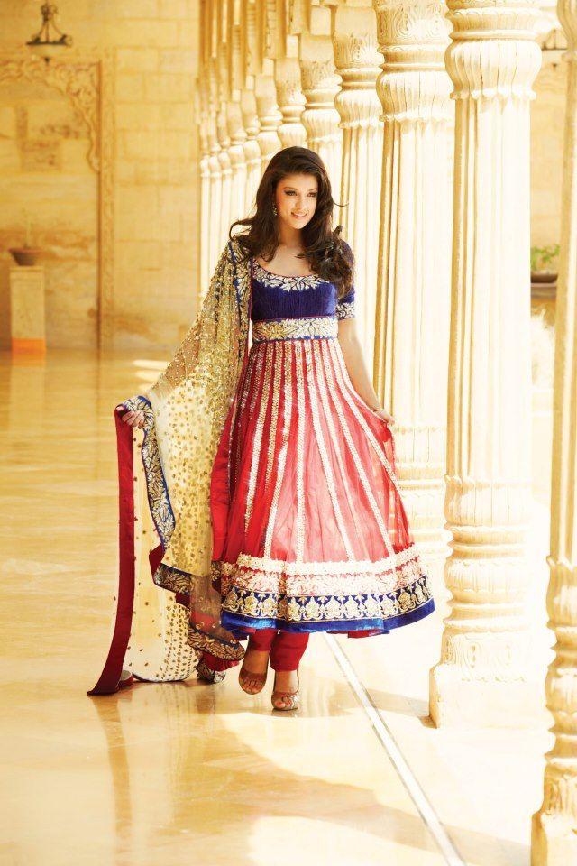 Beautiful Anarkali by http://www.KalkiFashion.com/salwar-kameez/anarkali-salwar-kameez.html