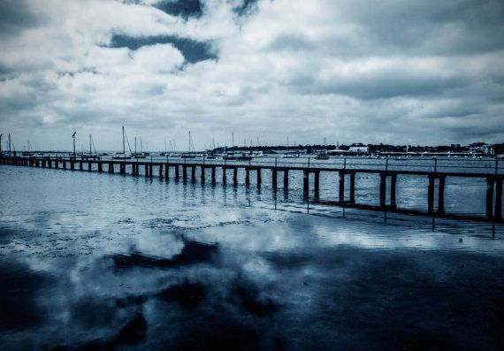 Waterfront Reflections  Geelong Australia by BellaEvePhotography