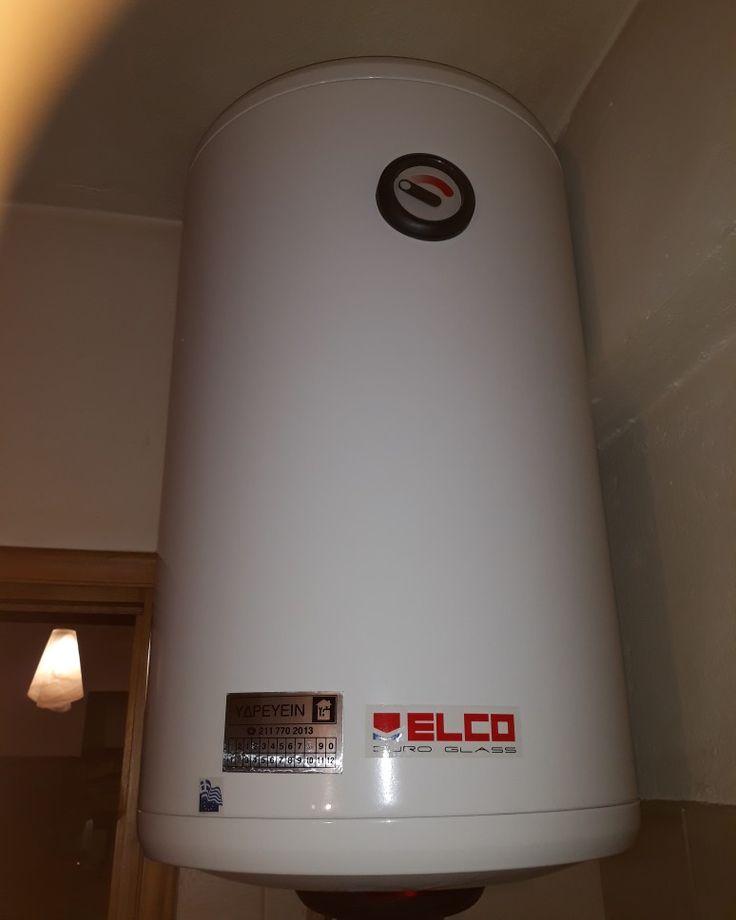 ΥΔΡΕΥΕΙΝ Υδραυλικοι v Κορυδαλλός Εγκατάσταση Ηλεκτρικού Θερμοσιφωνα ELCO Duro Glass www.υδρευειν.eu/e-shop 211 770 2013