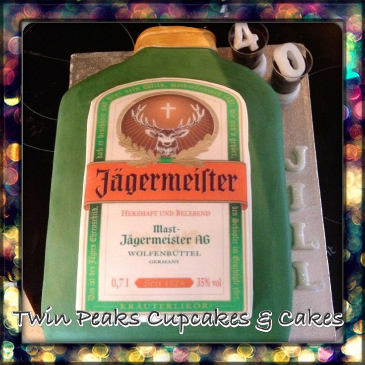 Jagermeister German Chocolate Cake Shot