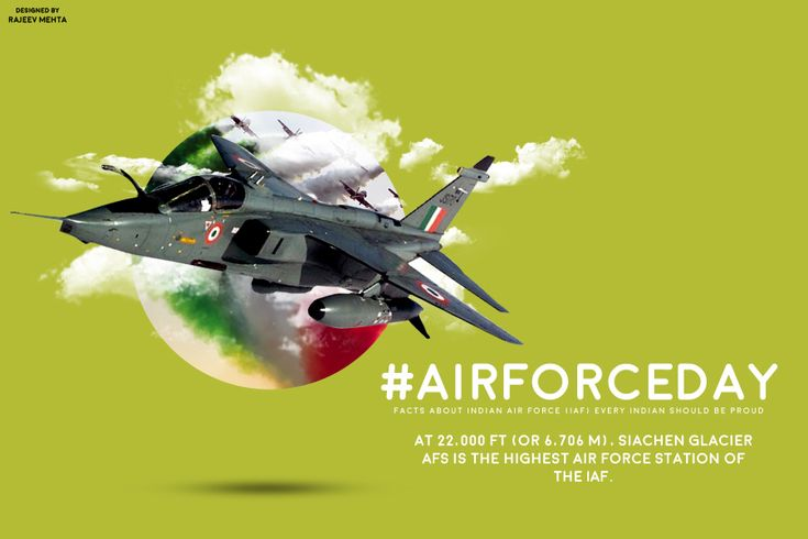 #AirForceDay : 6 Graphics that define greatness of Indian Air Force  Designed by GFX Designer & Social Media Graphic Designer Rajeev Mehta .