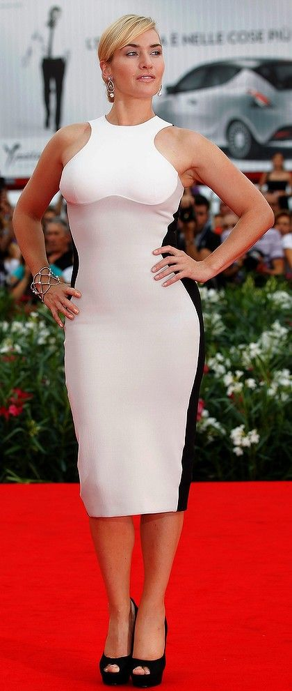 She laughs, she swears, she eats and she's curvy. Is there a better role model than Kate Winslet