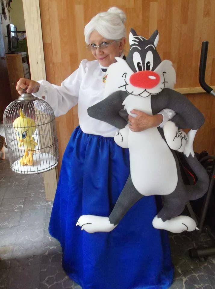 Disfraz de abuela de piolin! Costume piolin
