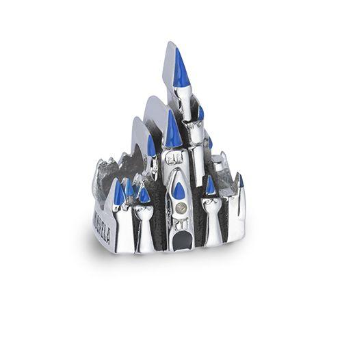 Pingente castelo Cinderela em prata 925 esmaltada - Life by Vivara