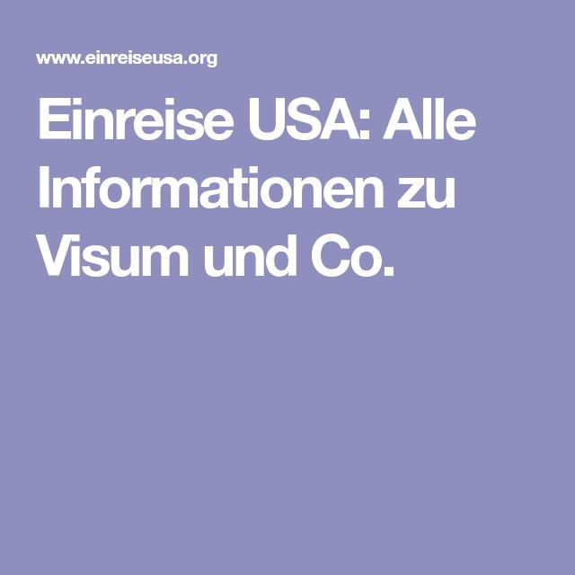 Einreise USA: Alle Informationen zu Visum und Co.