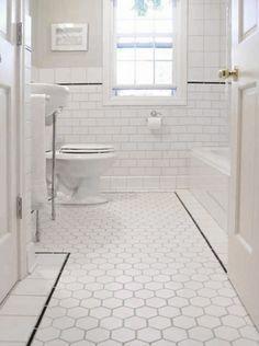 honingraat tegels badkamer - Google zoeken