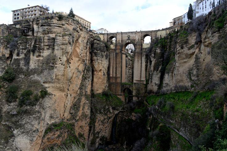 """""""El Tajo"""" of Ronda, with the Puente Nuevo in the background. photo: Dennis Faro"""