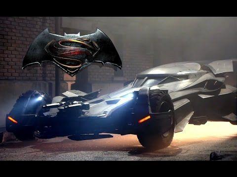 Best Batmobile Batman V Superman Dawn Of Justice Images On - Brand new batmobile revealed awesome