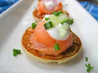... Cooking In Montana: Potato Pancakes(or Blinis)...with Smoked Salmon