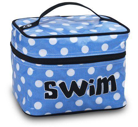 Katz Cosmetic Case Swim Blue/White Dot Sports Katz. Save 7 Off!. $17.99