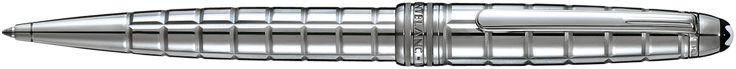 Montblanc presents:Meisterstück Solitaire Platinum-Plated Facet Classique Ballpoint Pen