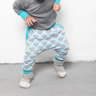 Hearts & pants | organic cotton | SHOWROOM Kids