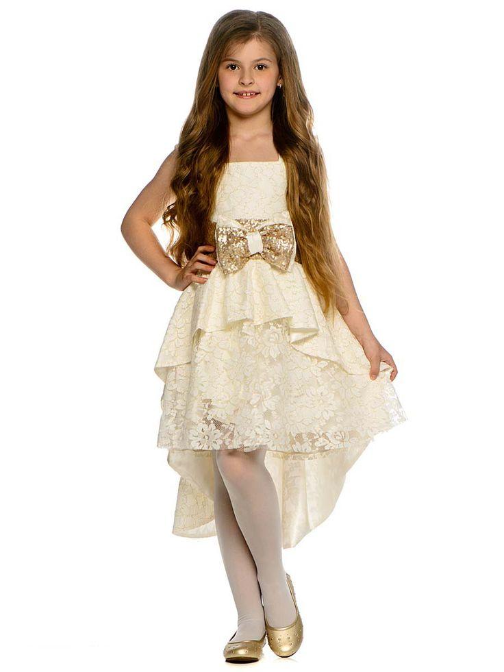 Праздничные платья для девочек (81 фото): для маленьких, для подростков