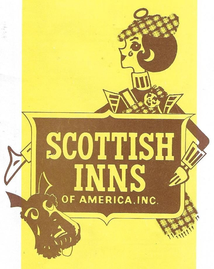 Vintage Mid Century Hotel Travel Brochure - Scottish Inns Of America - Locations Directory by 20thCenturyCool on Etsy