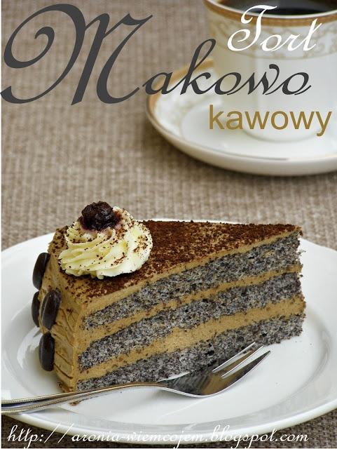 Tort makowo-kawowy@ Wiem co jem