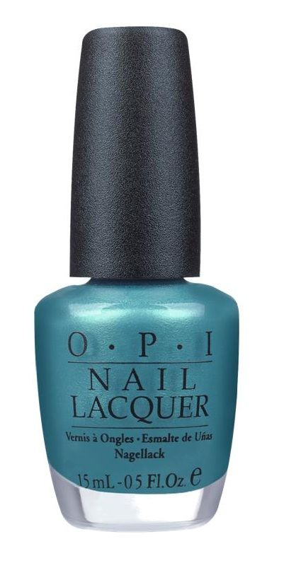 OPI Teal the Cows Come Home - against ovarian cancer