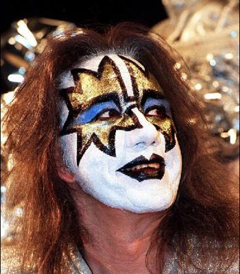 Ace Frehley Makeup | Ace Frehley, member of the rock band Kiss. Source: The Advertiser