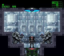 Super Metroid Phazon