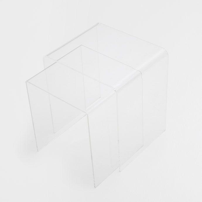Methacrylaat Tafel (Set van 2) - Bijzetmeubels - Bed - HOME COLLECTION AW16   Zara Home Holland