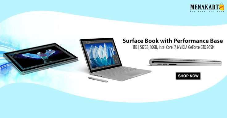 Shop for Microsoft Surface Book online at Menakart.com #Microsoft #SurfaceBook #Laptops #online #shopping #menakart