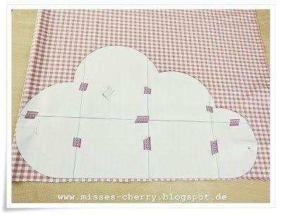 Misses Cherry: Anleitung Wolkenkissen