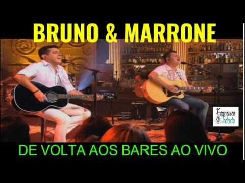 MARRONE E VOLTA BAIXAR MP3 DE BRUNO AOS BARES