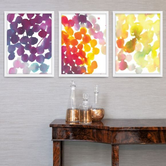 Dappled days wall art (set of 3)