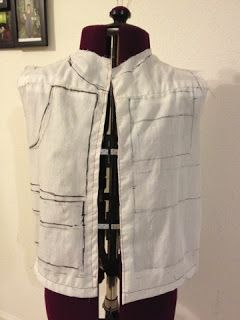 Geek Grrl Crafts: Han Solo Costume: Making the Vest (1)