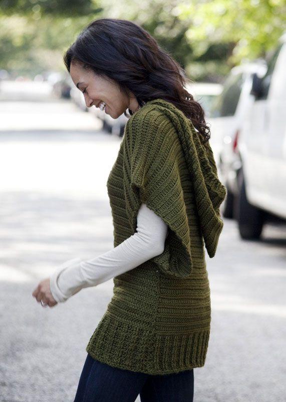 Crochet sweater, cute...
