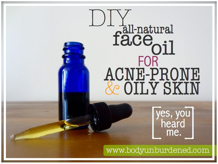 This DIY natural face oil blend is perfect for acne-prone and oily skin. Homemade natural beauty.
