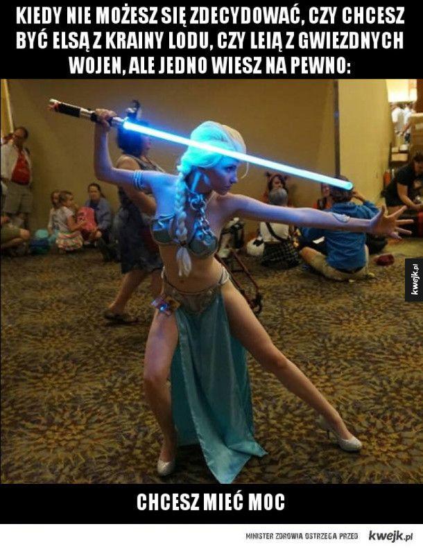 Mam tę moc, mam tę moc #kwejk #humor #cosplay