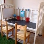 Don't get rid of your old crib! Repurpose it!