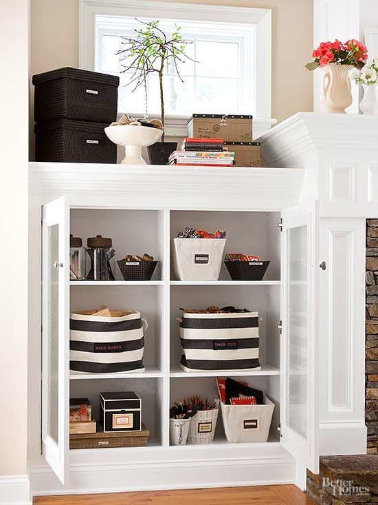 13 best Organized Living Rooms images on Pinterest