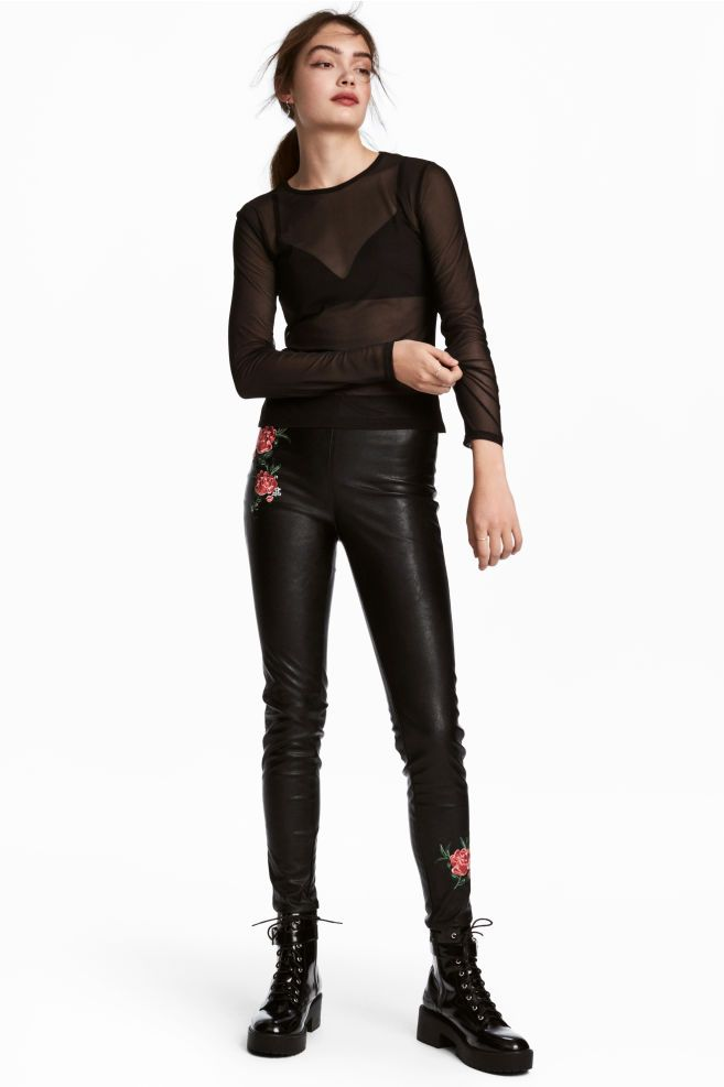 potrivire grozavă bine cunoscute vânzare Statele Unite online produse calde 100% autentic produs nou pantaloni latex h&m -  carpathian-endemics.ro