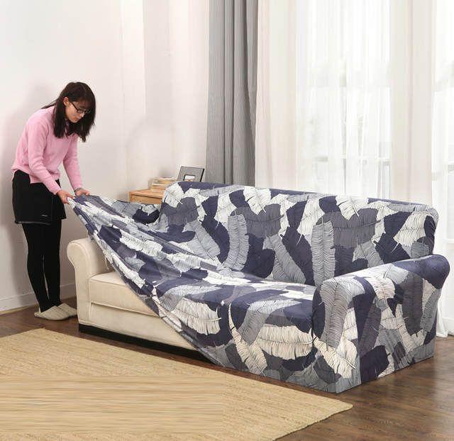Housses Canape Serre Wrap Tout Compris Slip Resistant Coupe Elastique Plein Housse De Canape Serviet Slip Covers Couch Slipcovered Sofa Couch Covers Slipcovers