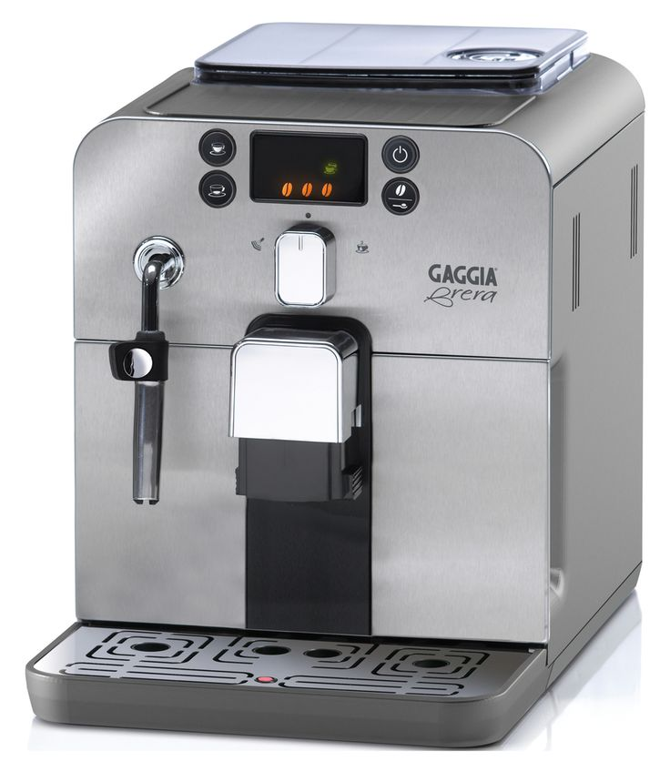 Further proof that good things come in small packages, the #Gaggia Brera is a fully equipped super-automatic espresso machine with a compact footprint that will leave you with plenty of counter space.