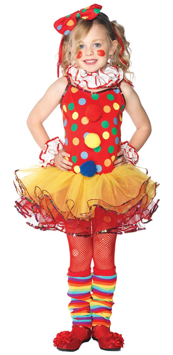 Girls Circus Clown Costume  Clown Costumes Londyn