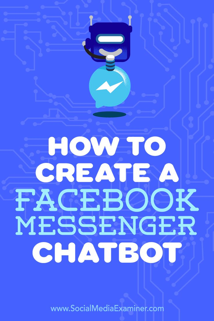 Facebook Messenger chatbots can help your followers get answers to frequently asked questions and more.  In this article, you'll discover how to set up a Facebook Messenger chatbot for your business.