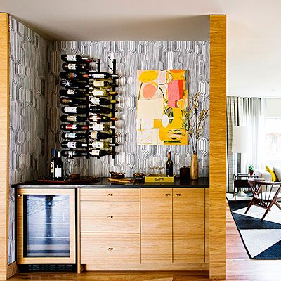 Build in a place to party - Smart Ideas from a Stunning Mid-Century Modern Remodel - Sunset