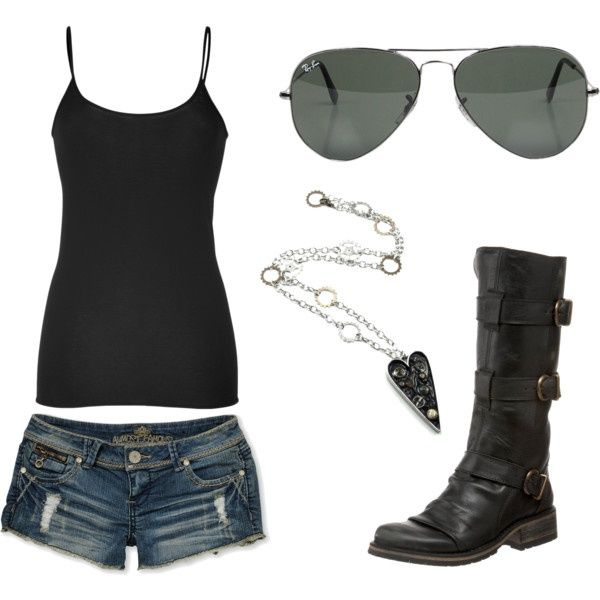 Biker girl - style